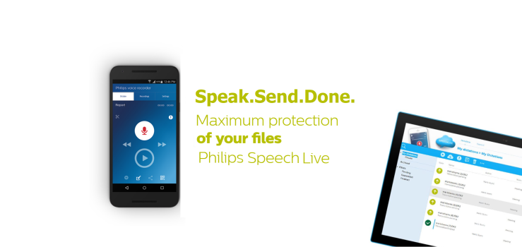 Philips Speech Live Digital Dictation